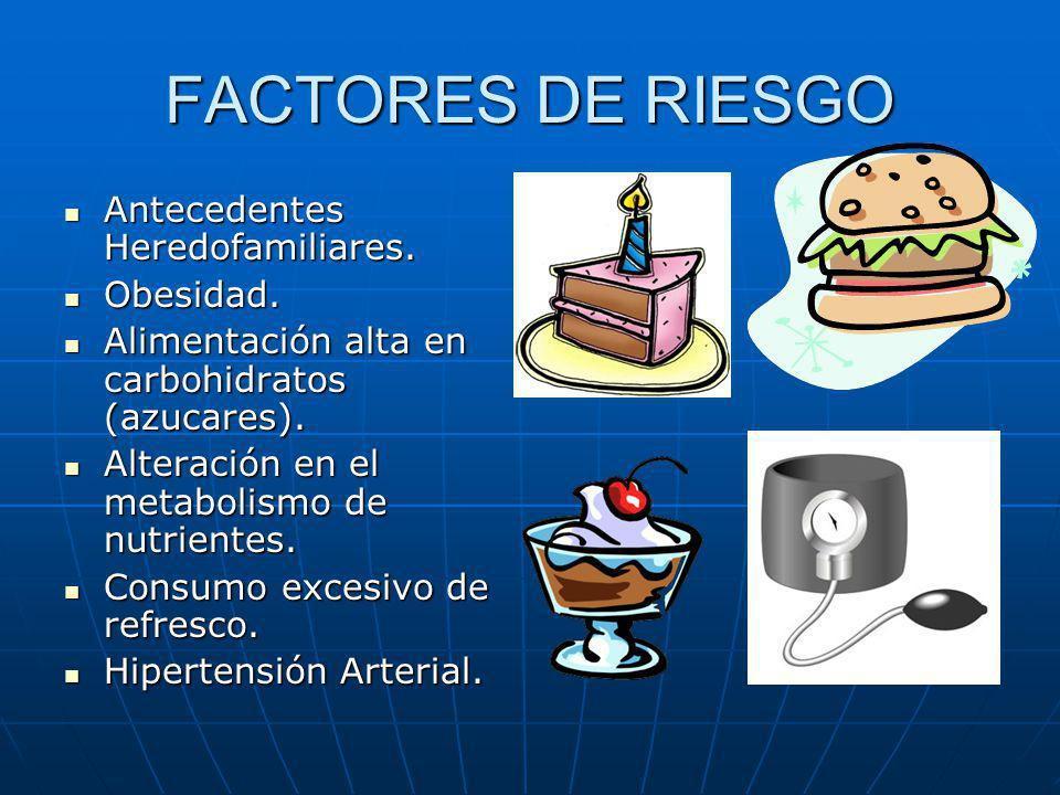 FACTORES DE RIESGO DE DIABETES